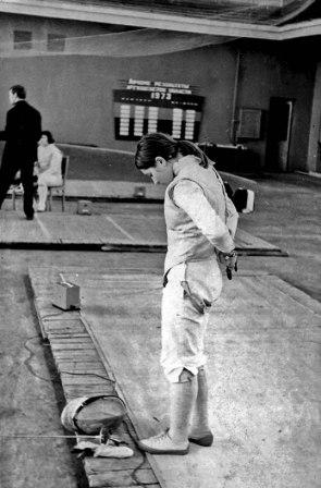 На Спартакиаде школьников Русецкая испытала и чувство первого поражения, и радость первой серьезной победы. Победный 1973 год.