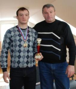 Чемпионский тандем тренера и спортсмена.