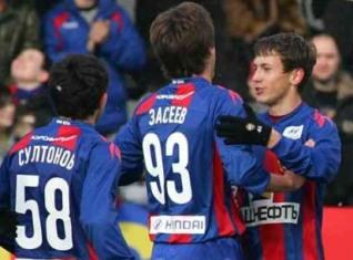 Гела ЗАСЕЕВ открыл счет своим голам в турнире молодежных команд