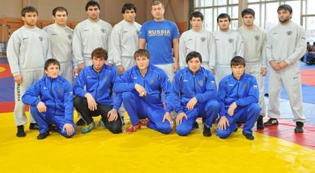 Борцы Осетии составили костяк сборной России