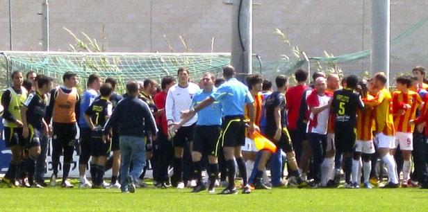«Алания» поучаствовала в массовых столкновениях на футбольном поле