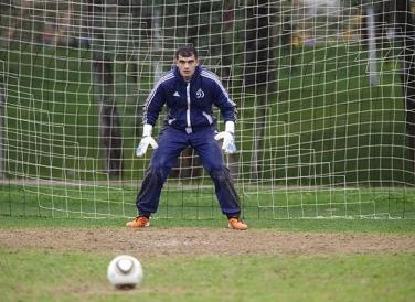 Владимир ГАБУЛОВ уже тренируется в общей группе