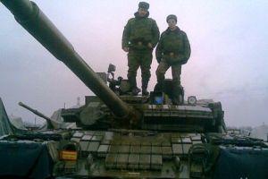 Штангист + танкист.