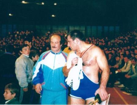 Казбек Дедегкаев и Махарбек Хадарцев после награждения.