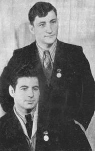 Алимбег БЕСТАЕВ и Амурхан БАЛАЕВ.