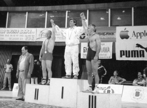 Блистательной спортивное долголетие: Руслан ПЛИЕВ - чемпион мира среди ветеранов. 1993 г.
