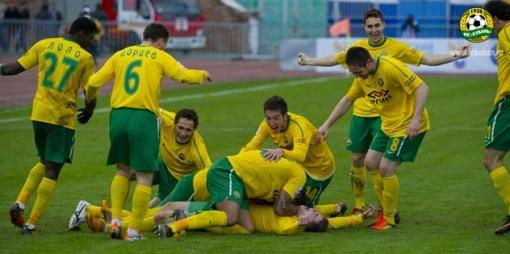 Автор гола «Кубани» посвятил забитый мяч Давиду ЦОРАЕВУ – новоиспеченному отцу