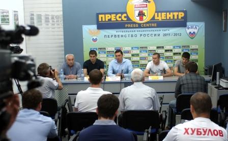 Владимир ГАЗЗАЕВ: «Постараемся укрепиться точечно. Новички должны усилить игру»