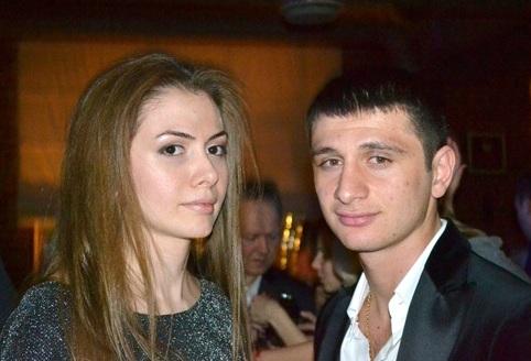 Алан ДЗАГОЕВ с невестой Заремой (фото vk.com).