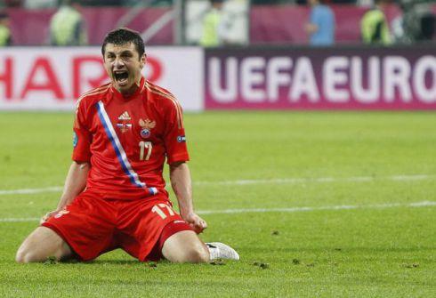 Алан ДЗАГОЕВ стал героем первого дня ЕВРО-2012