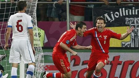 УЕФА: Алан ДЗАГОЕВ – лучший игрок матча Россия – Чехия