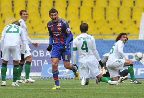 Алан ДЗАГОЕВ забил четвертый гол в чемпионате