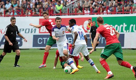 Угловой в исполнении ДЗАГОЕВА позволил ЦСКА одержать трудную победу