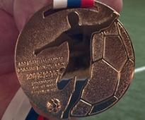 Алану ДЗАГОЕВУ вручена золотая медаль чемпиона России