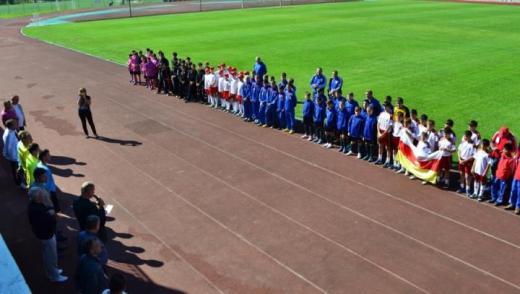 Юные футболисты Южной Осетии уступили бакинскому «Нефтчи»