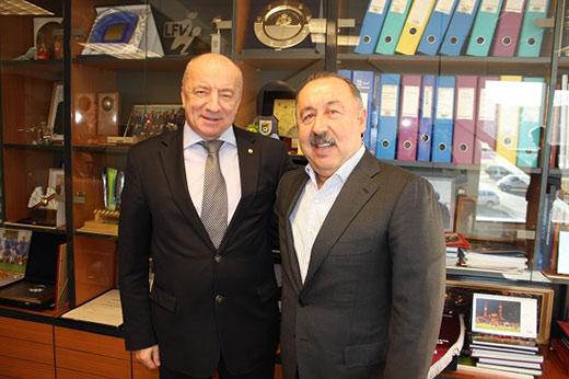 ГАЗЗАЕВ во главе делегации ОФЛ посетил Ригу с рабочим визитом