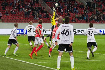 Альберт ЦХОВРЕБОВ поучаствовал в сенсационной победе над московским «Спартаком»
