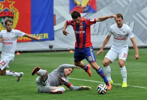 Алан ДЗАГОЕВ сыграл первый матч после травмы