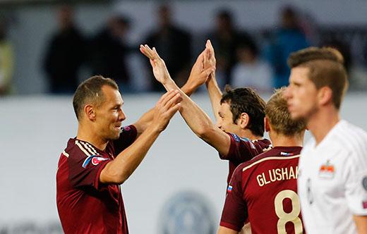 Алан ДЗАГОЕВ «вписался» в победу сборной России