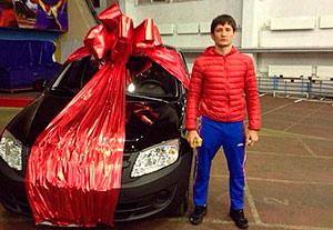 Из Дворца спорта на «Ладе Гранте» уехал Мурат ГОКОНАЕВ