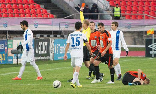 Алан ЧОЧИЕВ дисквалифицирован на три игры
