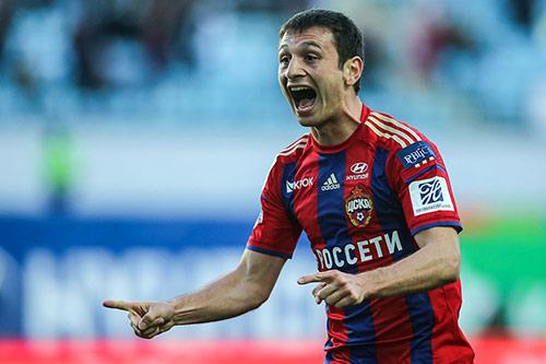 Алан ДЗАГОЕВ забил первый гол после травмы