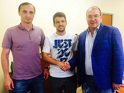 Батраз ХАДАРЦЕВ вышел в премьер-лигу вместе с «Анжи»
